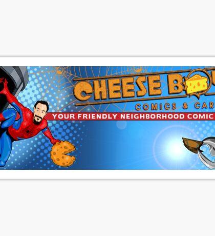 Logo with Spider-meme Sticker