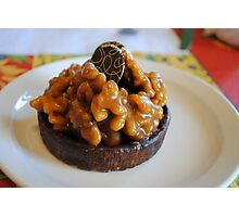 Chocolate Caramel Delight... with Walnuts! Photographic Print