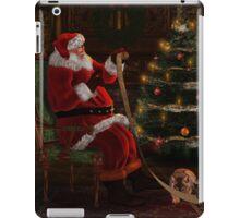 Santas List iPad Case/Skin