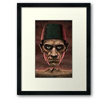 Boris The Mummy Framed Print