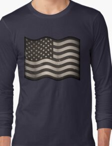 Old American Flag Long Sleeve T-Shirt