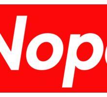 Nope Sticker