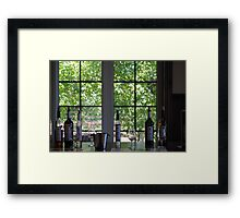 And Turn Them Into Wine Framed Print