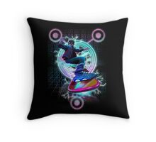 Hoverboard takes Flight Throw Pillow