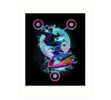 Hoverboard takes Flight Art Print
