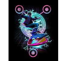 Hoverboard takes Flight Photographic Print