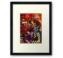 Day of the Dragonflies Framed Print