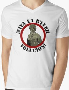 Viva La R'lyeh Volucion! Mens V-Neck T-Shirt