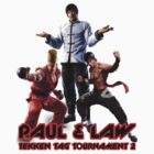 Paul & Law Tekken Tag 2 ver 2 by caocaoism
