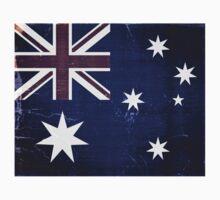 Vintage Australia Flag Kids Tee