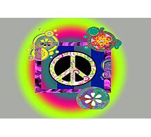 Signs of Peace Photographic Print