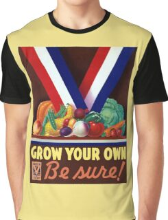 Victory Garden -- Grow Your Own Graphic T-Shirt