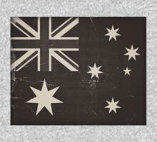 Old Australia Flag by Nhan Ngo
