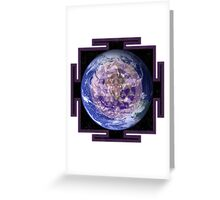 Peace On Earth Yantra Greeting Card