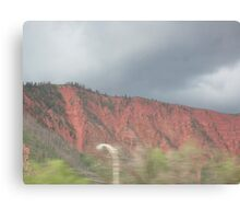 Painted Mountains of Colorado Canvas Print