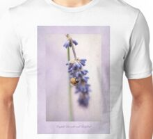English Lavender and Ladybird Unisex T-Shirt