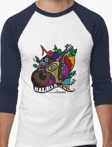 "s t u d i o  BURKE ""Jazzy T"" Men's Baseball ¾ T-Shirt"