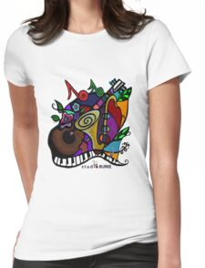 """s t u d i o  BURKE """"Jazzy T"""" Womens Fitted T-Shirt"""