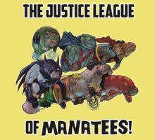 Justice League of Manatees SALE! Kids Clothes