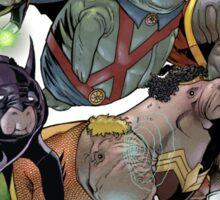 Justice League of Manatees SALE! Sticker