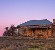 Before Dawn, Mount Bryan East Abandoned Homestead by pablosvista2