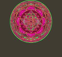 Lakshmi Yantra Mandala Womens Fitted T-Shirt