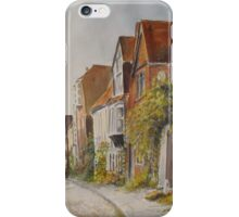 A lane in Rye - East Sussex iPhone Case/Skin