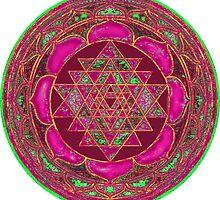 Lakshmi Yantra Mandala by svahha
