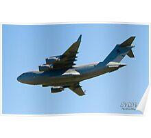 RAAF Boeing C17 Globemaster III  Poster