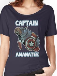 Captain Amanatee SALE! Women's Relaxed Fit T-Shirt