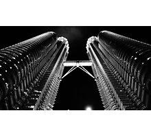 Patronas Towers Photographic Print