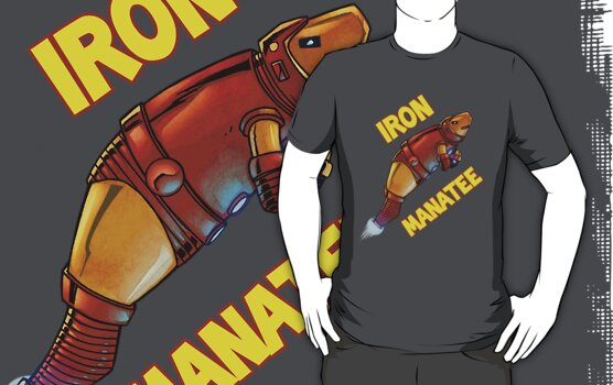 Iron Manatee by jomiha