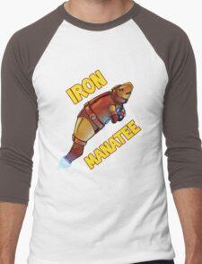 Iron Manatee SALE! Men's Baseball ¾ T-Shirt
