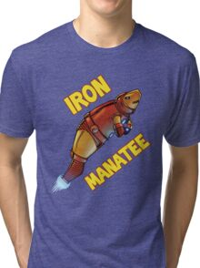 Iron Manatee SALE! Tri-blend T-Shirt