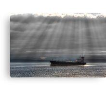 Sun Rays over Elliott Bay Canvas Print
