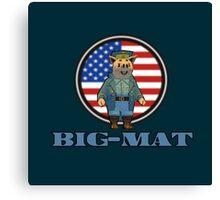 Big-Mat Canvas Print