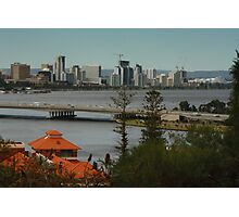 Beautiful Perth.....Beyond the Terracotta Photographic Print