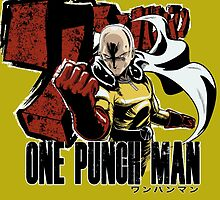 One Punch Hero by marcosmp