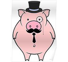 sir pig Poster