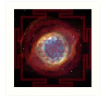 The Eye of God Yantra Art Print