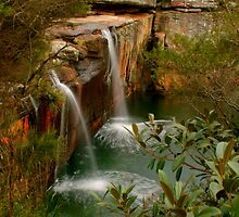Wattamolla Waterfall by Michael Matthews