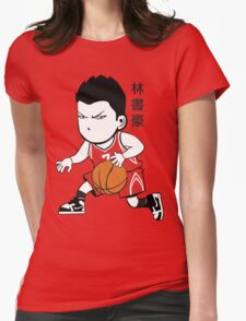 LINSANITY IN HOUSTON Womens Fitted T-Shirt