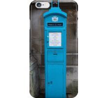 City Of London Blue Police public call  box iPhone Case/Skin