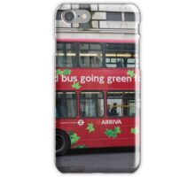 Eco Green London Bus iPhone Case/Skin