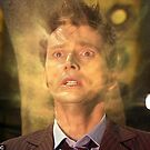 10th Doctor (David Tennant) Regenerating Poster by PiswuGlad