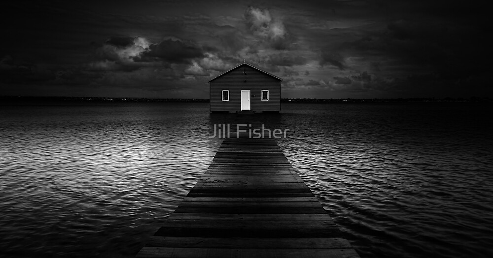 The Old Boat Shed by Jill Fisher