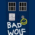 BAD WOLF Sherlock TARDIS by vanessaisha