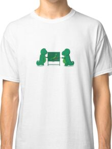 Godzilla's plan Classic T-Shirt