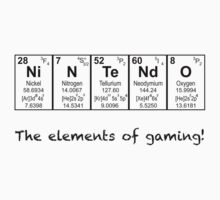 Elements of Gaming Kids Clothes