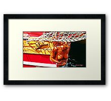 "Out in Front"" Framed Print"